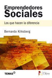Libro Emprendedores Sociales del Dr. Bernardo Kliksberg
