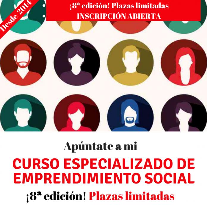 Curso especializado de emprendimiento social 8 edición