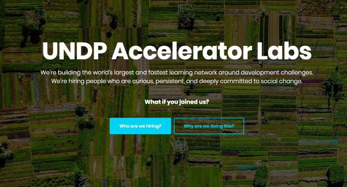 Oferta de Trabajo en PNUD Accelerator labs