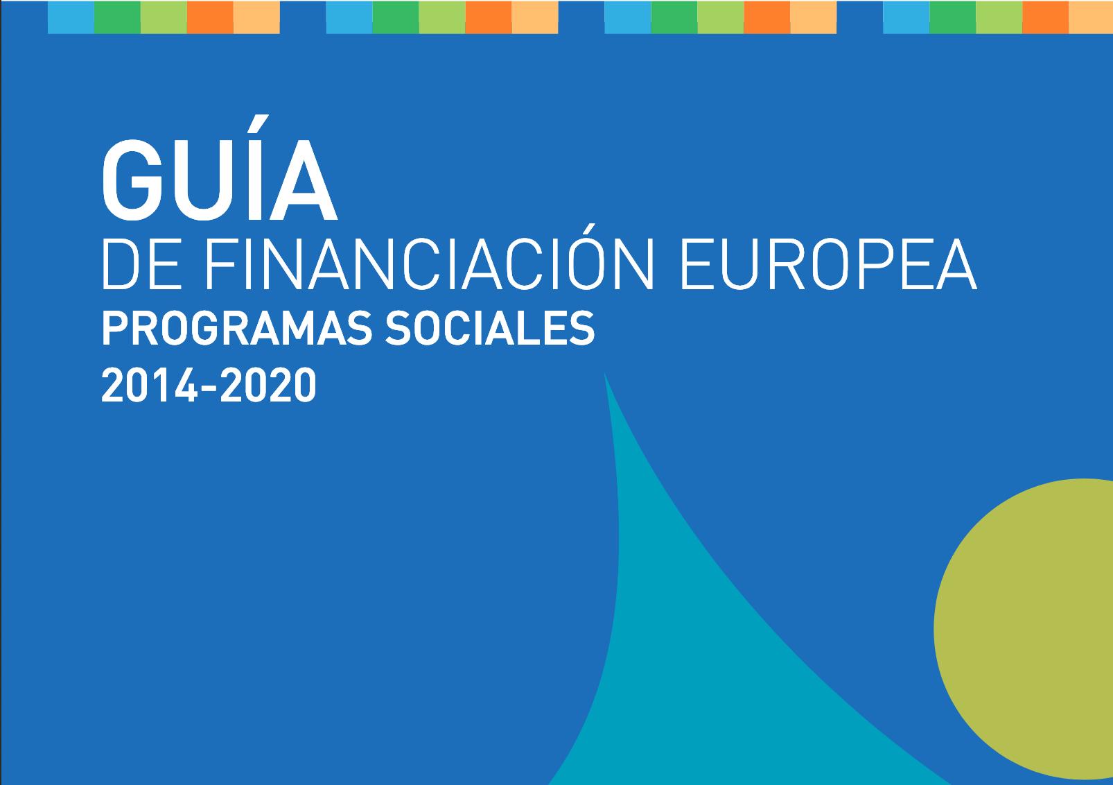 Guía financiación europa emprendimiento social